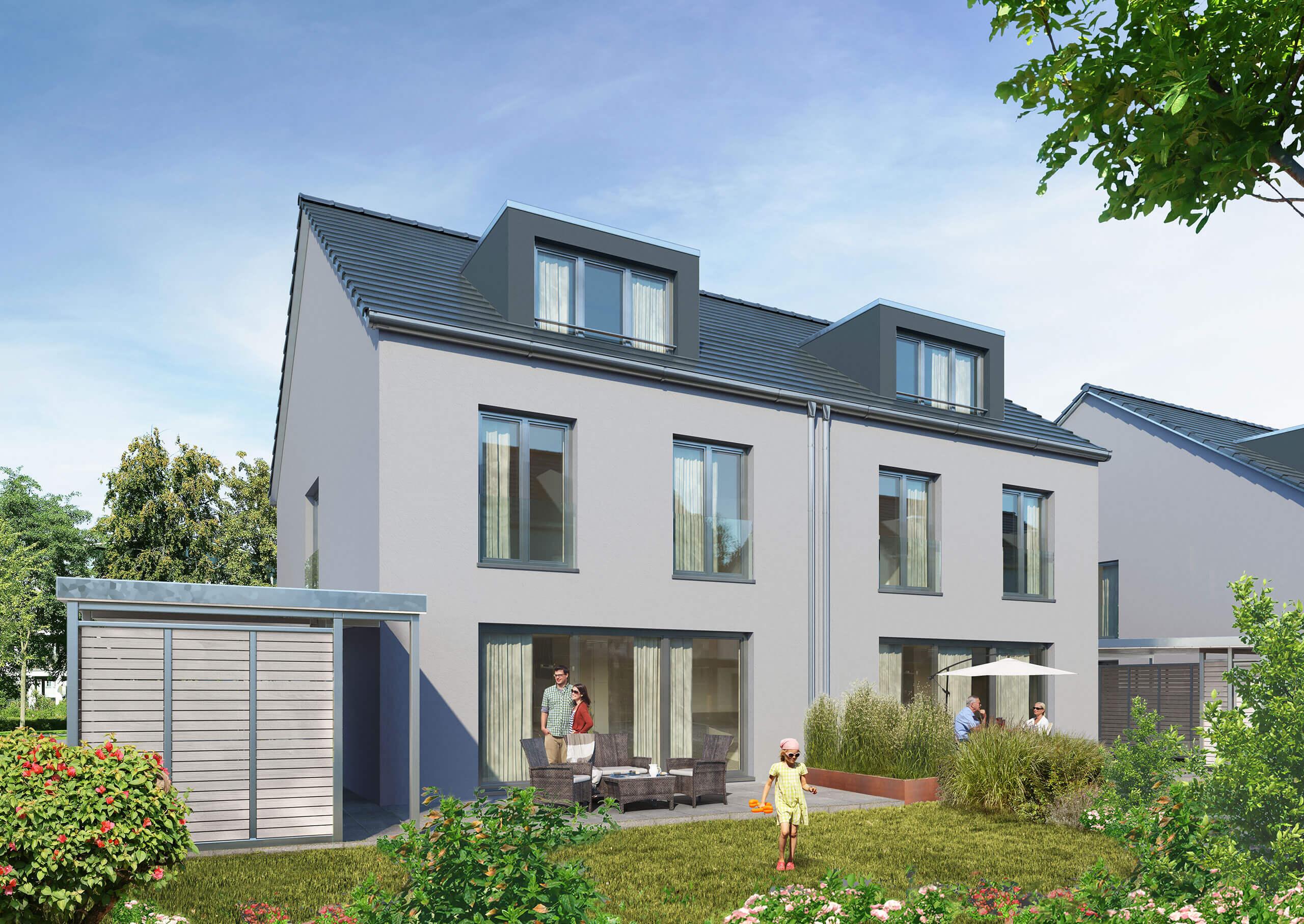 Verkaufsstart für Doppelhäuser ist erfolgt